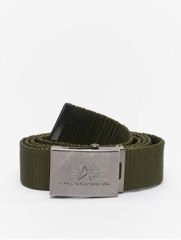 Alpha Industries Belts Heavy Duty oliven