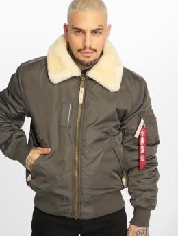 Alpha Industries Bomber jacket Injector Iii grey