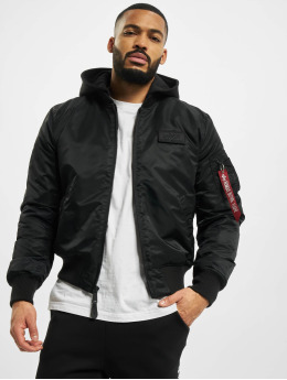 Alpha Industries Bomber Ma-1 Zh Back Print noir