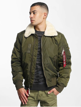 Alpha Industries Bomberjacke Injector III Flight grün