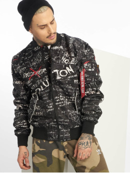 Alpha Industries Bomberjacke Ma-1 GC Revolution schwarz