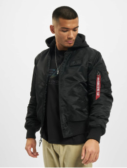 Alpha Industries Bomberjacke Ma-1 Zh Back schwarz