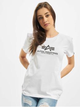 Alpha Industries Camiseta New Basic blanco