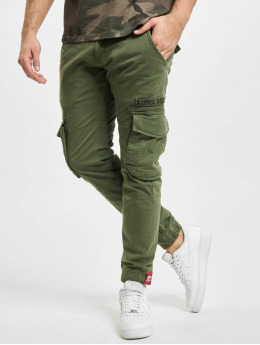 Alpha Industries Cargo pants Rescue  olivový