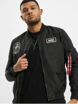 Alpha Industries Cazadora bomber Ma-1 TT Glow In The Dark negro