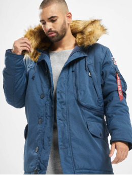 Alpha Industries Chaqueta de invierno Polar azul