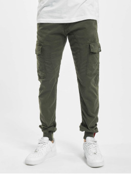 Alpha Industries Chino bukser Spark  grå