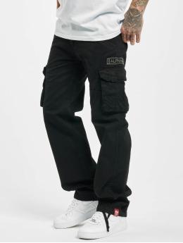 Alpha Industries Chino bukser Jet svart