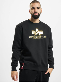Alpha Industries Gensre Basic Foil Print svart