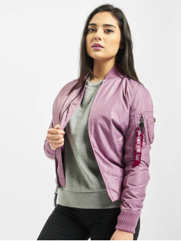 Alpha Industries Giubbotto Bomber Ma-1 Tt viola