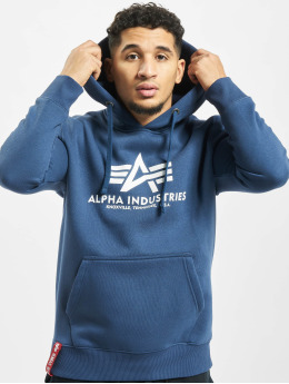 Alpha Industries Hoody Basic  blau