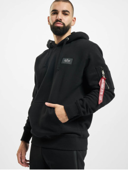 Alpha Industries Hoody Safety Line schwarz