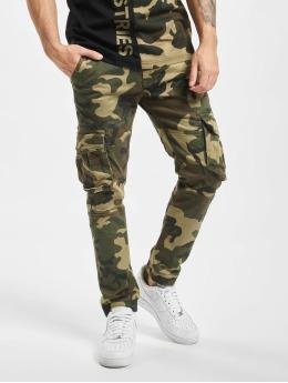 Alpha Industries Jogging kalhoty Army  kamufláž