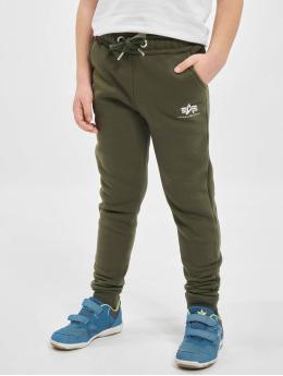 Alpha Industries Jogging kalhoty Basic Jogger olivový