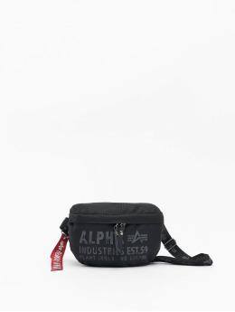 Alpha Industries Laukut ja treenikassit Cargo Oxford Waist Bag  musta