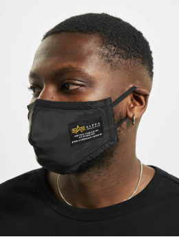 Alpha Industries Otro Crew Face Mask negro