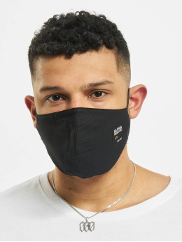 Alpha Industries Overige Label Face Mask zwart