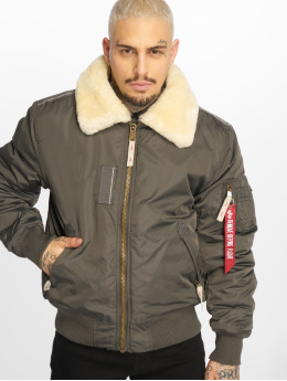 Alpha Industries Pilotjakke Injector Iii grå