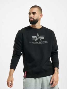 Alpha Industries Pullover Basic Reflective Print black