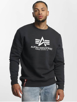 Alpha Industries Pullover Basic  blau