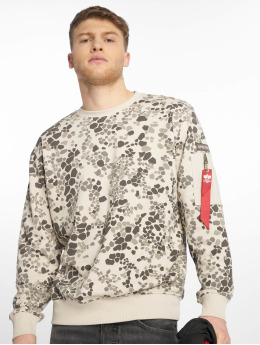 Alpha Industries Pullover Special Forces grau