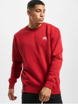 Alpha Industries Pullover Small Logo Basic rot