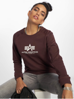 Alpha Industries Pulóvre New Basic èervená