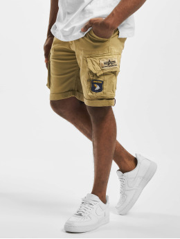 Alpha Industries Shorts Crew  beige