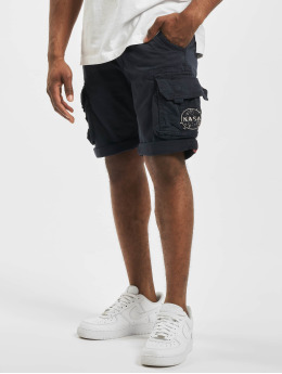 Alpha Industries Shorts Nasa  blau