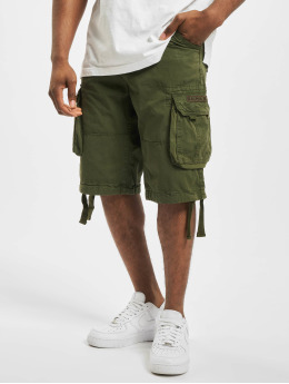 Alpha Industries Shorts Jet  grøn