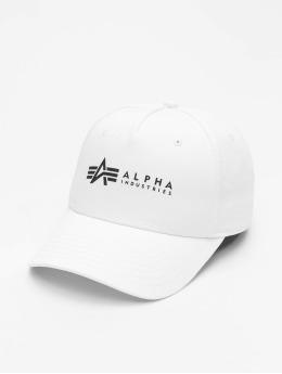 Alpha Industries Snapback Alpha  biela