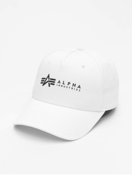 Alpha Industries Snapback Cap Alpha  bianco