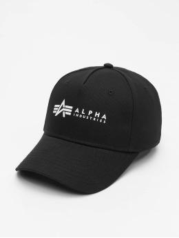Alpha Industries Snapback Cap Alpha  nero