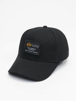 Alpha Industries Snapback Cap Crew nero
