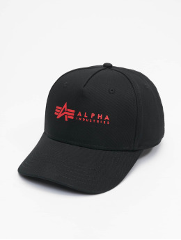 Alpha Industries Snapback Cap Alpha nero