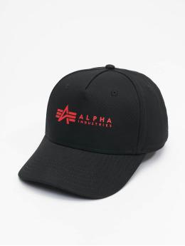 Alpha Industries Snapback Caps Alpha čern