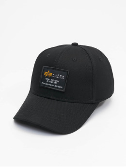 Alpha Industries Snapback Caps Crew musta