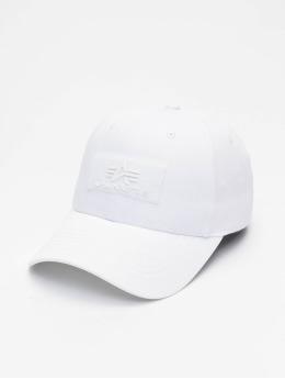 Alpha Industries Snapback Caps VLC valkoinen