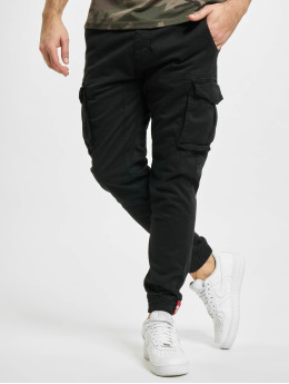 Alpha Industries Spodnie Chino/Cargo Cotton Twill  czarny