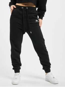 Alpha Industries Spodnie do joggingu Basic  czarny