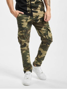 Alpha Industries Spodnie do joggingu Army  moro