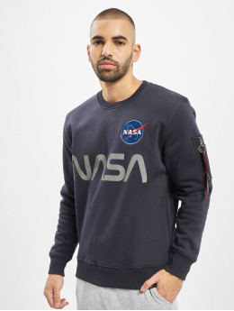 Alpha Industries Sweat & Pull NASA Reflective bleu