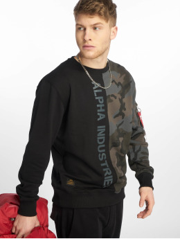 Alpha Industries Sweat & Pull Camo Half camouflage