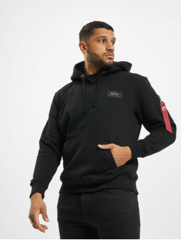Alpha Industries Sweat capuche Back Print Foil noir
