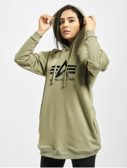 Alpha Industries | Big A olive Femme Sweat capuche