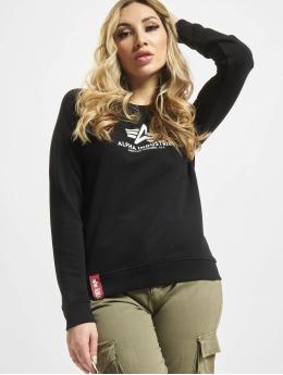 Alpha Industries Swetry New Basic czarny