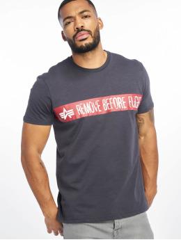 Alpha Industries T-Shirt RBF bleu