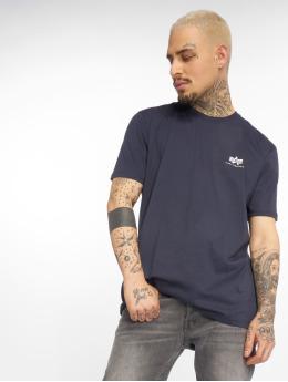 Alpha Industries T-shirt Basic Small Logo blu