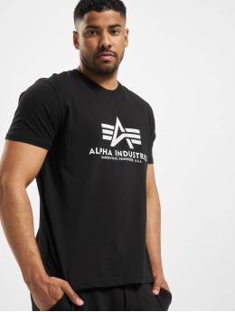 Alpha Industries T-shirt Basic  nero