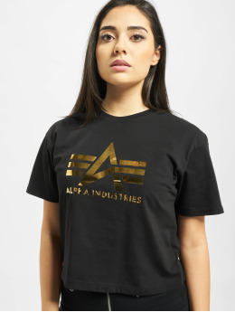 Alpha Industries T-Shirt Big A T Wmn schwarz
